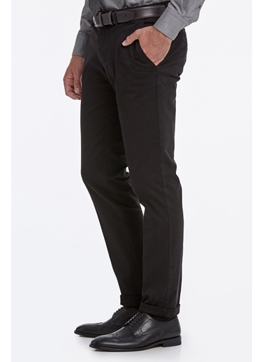 Hemington Pamuk Chino Pantolon Siyah